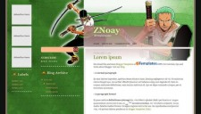 ZNoay Blogger Template