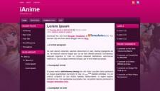 iAnime Blogger Template