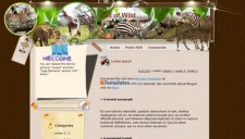 Call of Wild Blogger Template