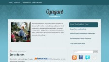 Cyagant Blogger Template