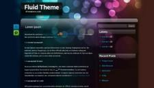Fluid Theme Blogger Template