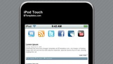 iPod Touch Blogger Template