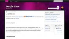 Purple Haze Blogger Template
