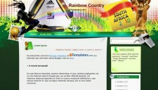Rainbow Country Blogger Template