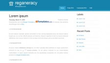 Reganeracy Blogger Template