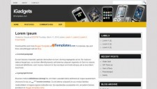 iGadgets Blogger Template