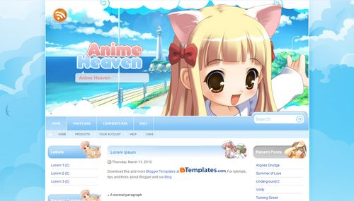 Download Template Anime 09