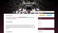 Balikato Blogger Template