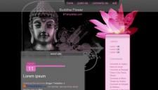 Buddha Flower Blogger Template