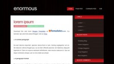 Enormous Blogger Template