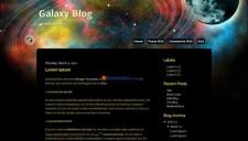 Galaxy Blog Blogger Template