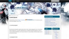 Games Room Blogger Template