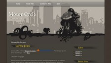 Motor Cycle Blogger Template