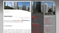 Real State 02 Blogger Template