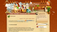 Sweet Palace Blogger Template