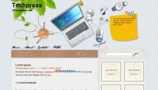Techpress Blogger Template