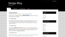 Design Blog Blogger Template