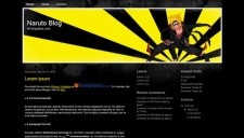 Naruto Blog Blogger Template