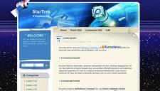 StarTrek Blogger Template