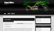 Super Bikes Blogger Template