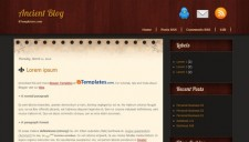 Ancient Blog Blogger Template