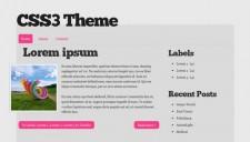 CSS3 Theme