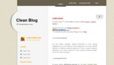 Clean Blog Blogger Template