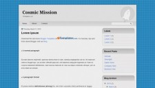 Cosmic Mission Blogger Template