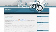 Medical Blogger Template