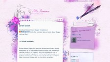 Mis Romances Blogger Template