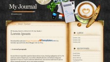 My Journal Blogger Template