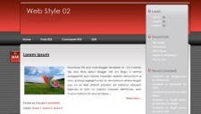 Web Style 02 Blogger Template