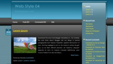 Web Style 04 Blogger Template