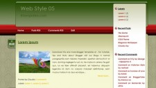 Web Style 05 Blogger Template