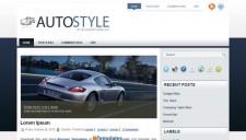 Auto Style Blogger Template