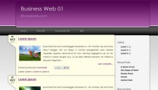 Business Web 01 Blogger Template