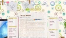 Desktop Diary Blogger Template