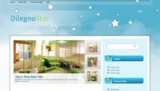 Dilegno Star Blogger Template