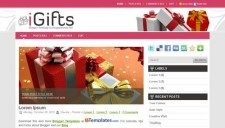 iGifts Blogger Template