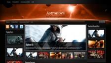 Astronova Blogger Template
