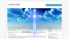 Christian Blog Blogger Template