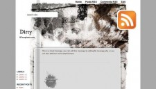 Dirty Blogger Template