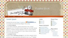 Freshie Book Blogger Template