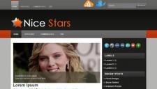 Nice Stars Blogger Template