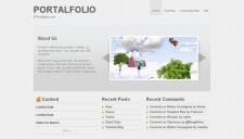 PortalFolio Blogger Template