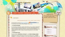 Romantic Getaway Blogger Template