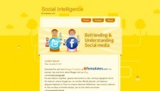 Social Intelligence Blogger Template