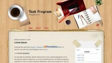 Task Program Blogger Template