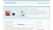 Web Vision Blogger Template