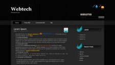 Webtech Blogger Template